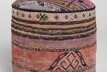 Kilim puf ottoman