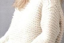 Female Oversized knits