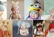 baby crochet beanies