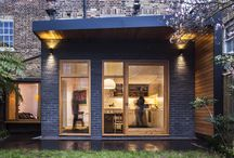 Canopy House / Conversion of a North London Victorian house which comprises of a rear extension and a first floor side extension.