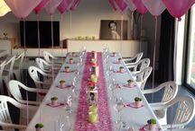 feestelijk tafel decoratie