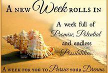 New weeks