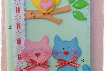 decorated note books