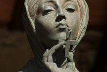 Grave Sculptures