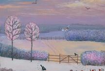 art - snow