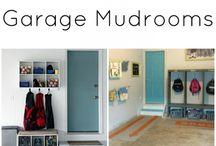 Garage Mud Room