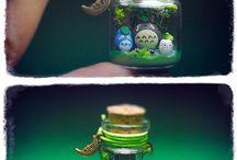 Украшения из бутылочек