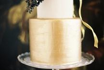 White/Gold Wedding
