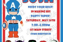 Avengers Party / by Holly Bishop