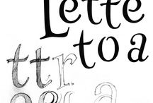 Hand lettering / Hand lettering projects by Patrick Knowles Design