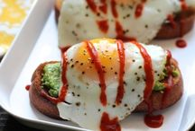 Sriracha for Breakfast? / Hell yeah! Jump out of bed for these bold Sriracha breakfast recipes and start your day right! / by Sriracha Cookbook