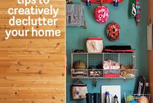 Home Life / Parenting to organizing - tips and tricks