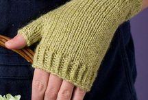 Gebreide Handskoene
