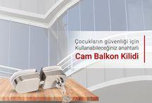 Cam Balkon / Fotoselli Kapı Kilit Sistemleri