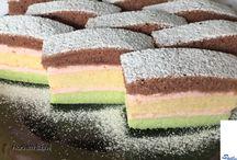 krémes töltelékü sütemények