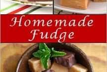 Food:  Homemade fudge
