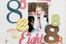 Scrapbooking Ideas / Samples of scrapbook pages
