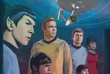 To Boldly Go : Celebrating Star Trek / Posters and Fan Art Celebrating Star Trek