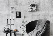 Mustakoivu seinät/lattiat