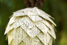 xmass tree ornaments / by Emma Newberry