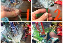Candy, Cupcake & Alcohol  Bouquets / by Mayo Benter