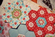 Hexagons / I heart hexagons...here is an inspiring collage of projects to make with these fun shapes!