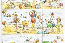 Thema zomer kids ( summer)