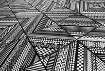MATERIALS // celling, walls, floor