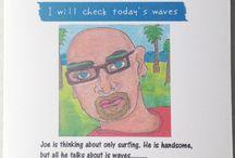 Art Mina Humorous Greeting Card