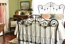 Painting iron bed frame ideas