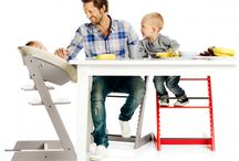 Small Space Kids: Eat / High chairs with small footprints.  Some convert, some fold, some are just cool.