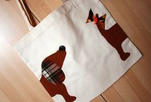 eli's bags / simples bags with recycled fabrics