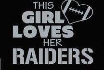 Raiders / Born a raider fan / by Alyssa Martinez