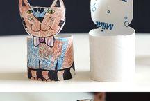 Roličky z toaletního papíru-výrobky