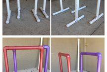 Dyi gymnastics equipment