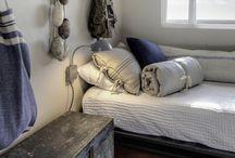 Coastal hamptons guest room