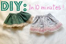 Baby cloths diy