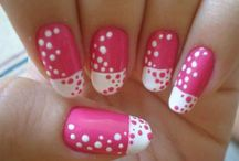 Unhas/ Bolinhas- Nails/ Polka Dot