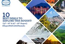 10 August Holiday Deals You Need To Know About. / 2 long weekends and 37 great deals, it doesn't get better than this! #AugustKaDoubleDhamaka #ExploreFourCorners