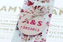 Invitation card / Softcover