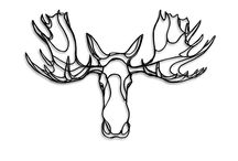 Moose Tattoo