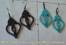 macrame earings?