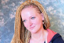 Twist Hair Styles / Twists, Micro Twists, Latchhookmethode