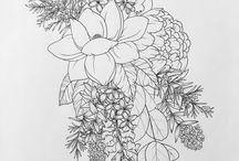 Folk floral
