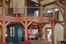 Timber Frame / by Natural Element Homes