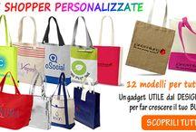 Borse e Zainetti / Borse di tutti i tipi: shopper-zainetti- borse business-borse sport ecc. Personalizzabili.