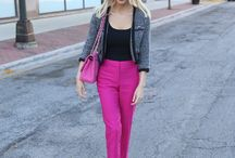 Hose in pink