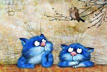 Синие Коты Счастья