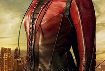 red arrow y Thea queen