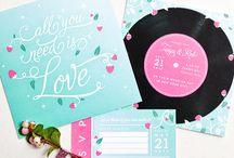 Wedding invites - Jack & Rula